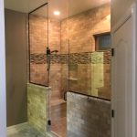 remodeled tile shower
